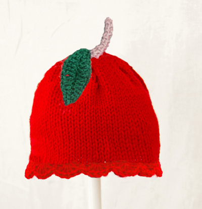 Apple Hat for Girls
